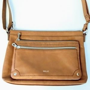 Relic Vegan Leather Crossbody Purse